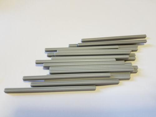 Qty:25 -New Element 6178172 Lego Medium Stone Grey Technic Axle 11 Part 23948
