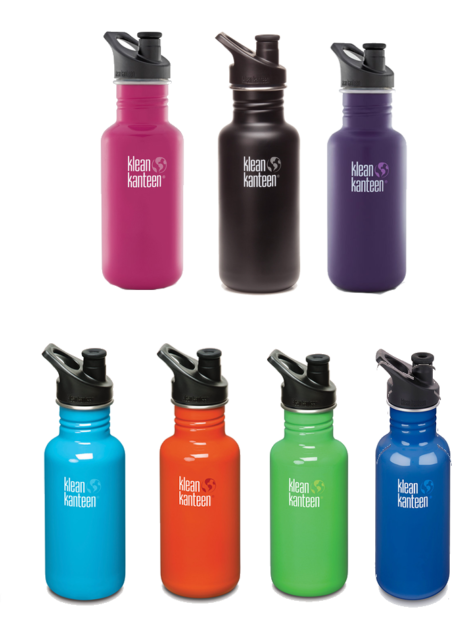 Trinkflasche Klean Kanteen Wide Edelstahl Sportflasche Bikeflasche Wasserflasche