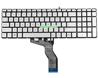 US Layout Silver Color Givwizd Laptop Replacement Non-Backlit Keyboard for HP 17-ca0004ur 17-ca0005AU 17-ca0005AX 17-ca0005nc 17-ca0005nf 17-ca0005ng 17-ca0005ns 17-ca0005ur 17-ca0006AU