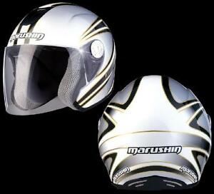 jet helm faser motorroller helmet casque marushin c147. Black Bedroom Furniture Sets. Home Design Ideas