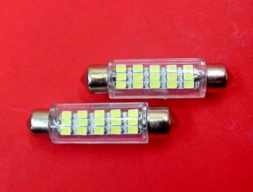 2 Super Bright White Dome Lens Lamp LEDs Lights Bulbs 65-95 Chrys Dodge Plymouth