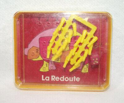 Jeu De Poche Publicitaire Vintage La Redoute Cochon Dé Bois Pions En Grappe 70's Nieuw (In) Ontwerp;