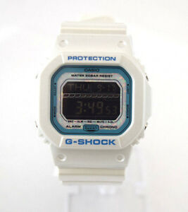 CASIO-G-Shock-GLS5600KL-7-Opal-Face-White-Square-Dial-White-Resin-Digital-Dial