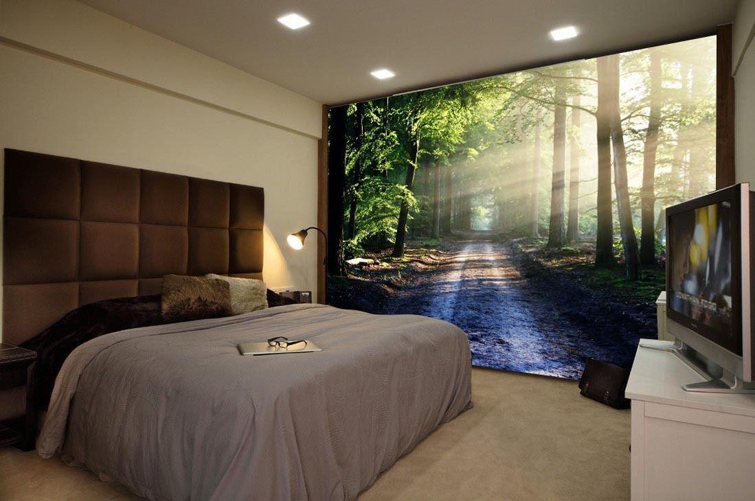 3D Ruhiger Waldweg 93 Tapete Wandgemälde Tapete Tapeten Bild Familie DE | Neuankömmling  | Innovation  | Hohe Qualität Und Geringen Overhead