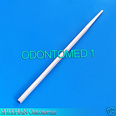"""SHEEHAN OSTEOTOMES 6.25"""" hexagon handle 2mm wide Surgical Dental Instruments"""
