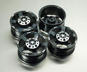 1/10 Scale 1.9 Alloy Aluminium Crawler Wheels Rims SCX10 CC01 JEEP D90 TRX-4