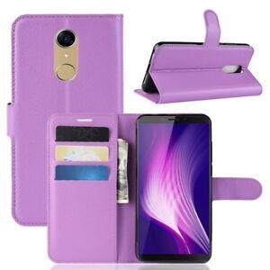 Pied-Portefeuille-Cuir-PU-Carte-Support-Etui-Housse-pour-Cubot-Nova-Smartphone