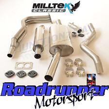 "Milltek MCXVW205 Golf GTi MK1 Exhaust System Resonated Inc Downpipe 2.25""  76-83"