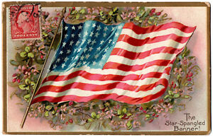 CPA-USA-The-Star-Spangled-Banner-Tucks-034-Decoration-day-Post-Cards-034-n-107