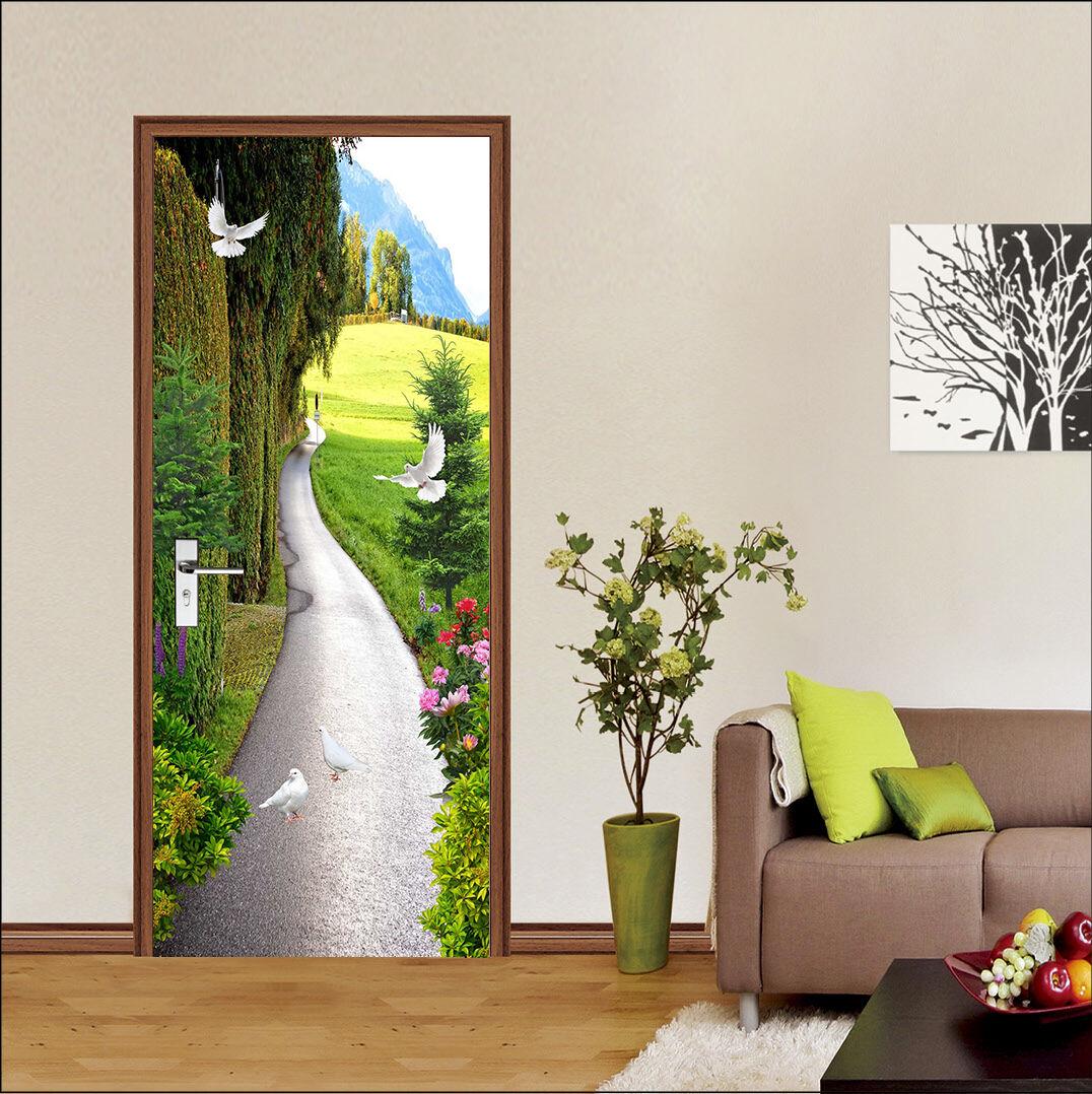 3D Die Taube 78 Tür Wandmalerei Wandaufkleber Aufkleber AJ WALLPAPER DE Kyra | Schön  | Qualitätskönigin  | Deutschland Online Shop