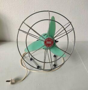 Ventilatore da tavolo vintage MED-Milano Mod. Sea Wind Funzionante 220 Volt