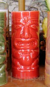 Hawaiian Tiki Mug. Brand New. Free Shipping cocktail bar Orange
