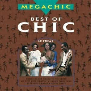 Chic-The-Best-of-Chic-Vol-1-Megachic-CD-Compilation-Very-Good
