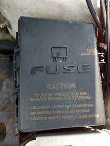 chrysler pacifica fuse box location fuse box engine engine compartment fits 04-06 pacifica ...