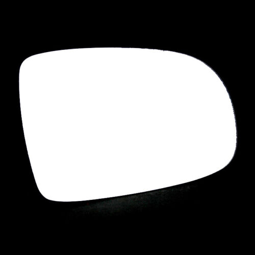 Right Hand Driver Side Door Wing Mirror Glass For Vauxhall Corsa 2001-2006