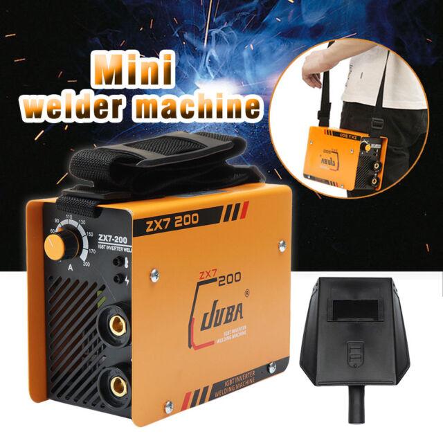 220V ZX7-200 Portable MMA ARC Welder IGBT Welding Machine Soldering Inverter