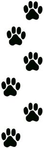Aufkleber-Katzenpfoten-Hundepfoten-Tatzen-Auto-Wand-Fliesen-ect-6-St-10X10cm