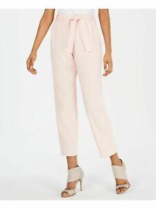 NWT-Calvin-Klein-Women-039-s-Petite-Belted-Crop-Dress-Pants-Casual-Pastel-sz-4P-89