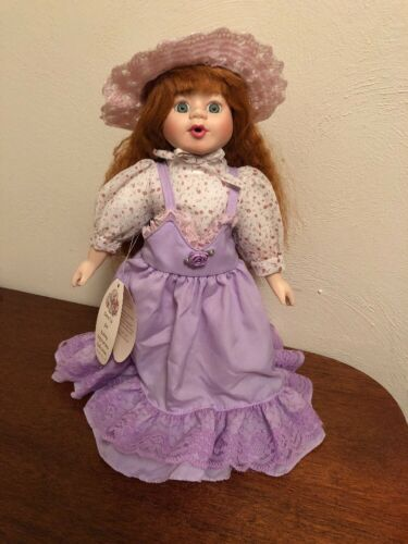 "Heritage Mint Jill Lasting Impressions Collection 14"" Porcelain Doll"