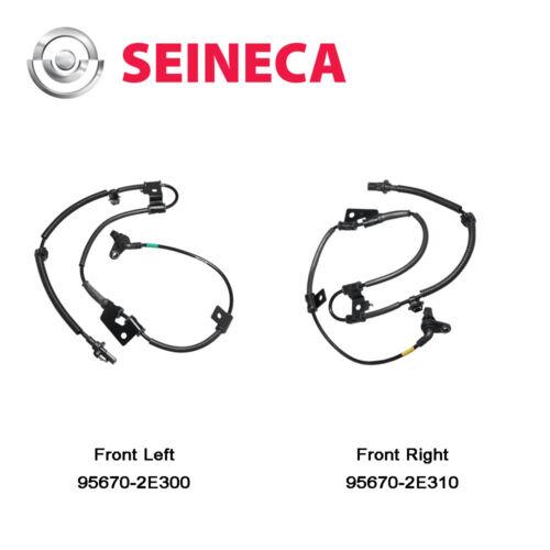 1Set ABS Wheel Speed Sensor Front L/&R Fit Hyundai Tucson 95670-2E300 95670-2E310