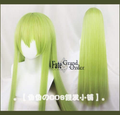 Wig Cap 90cm Fate Grand Order FGO Enkidu Anime Costume Cosplay Wig