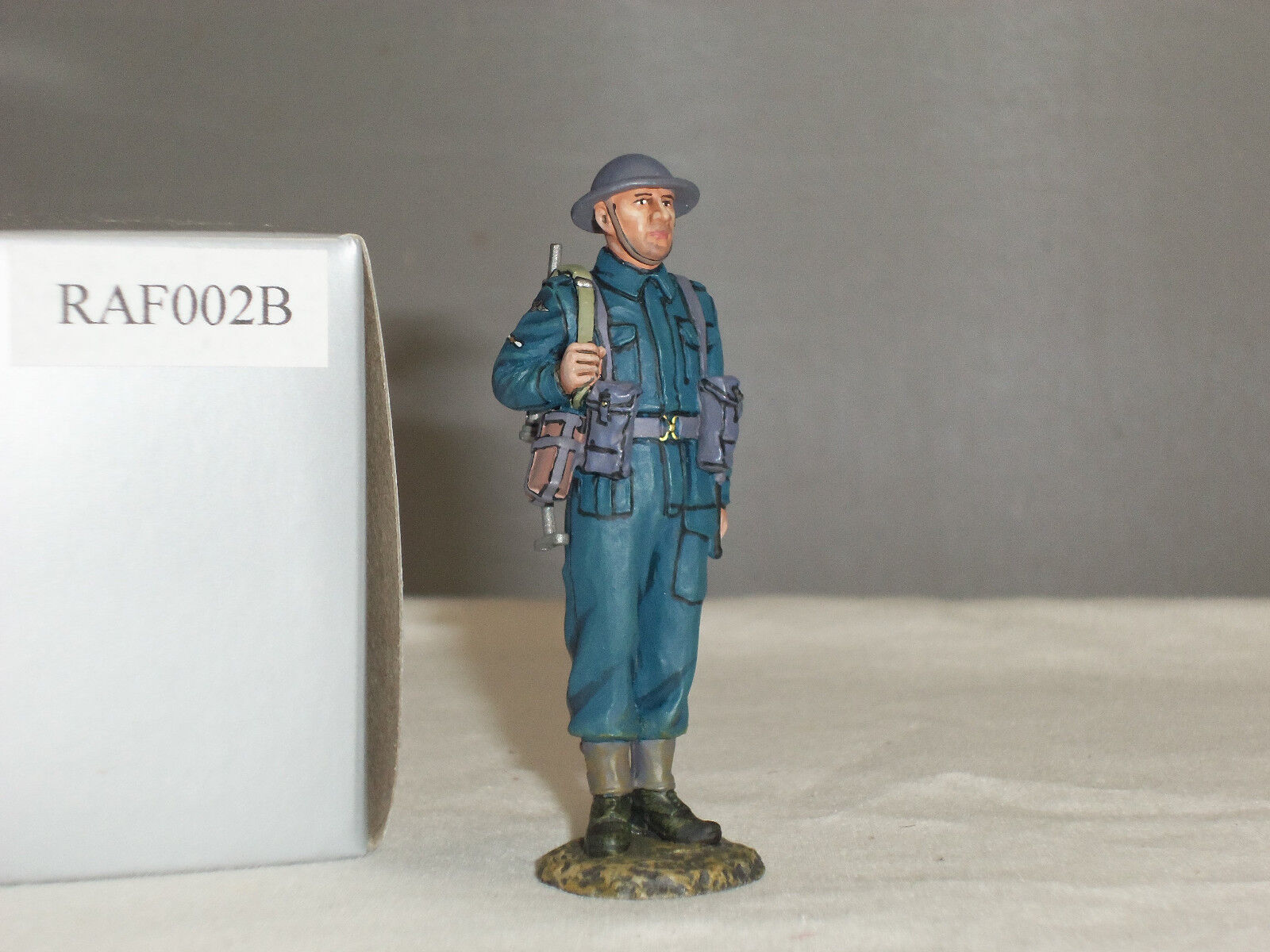 THOMAS GUNN RAF002B BRITISH RAF ROYAL AIR FORCE SENTRY GUARD WITH STEN GUN