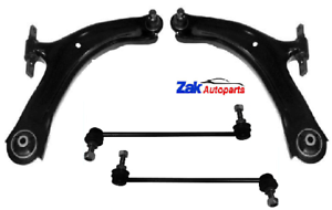 FOR-NISSAN-QASHQAI-2006-2011-FRONT-LOWER-WISHBONE-SUSPENSION-ARMS-amp-LINKS-NEW