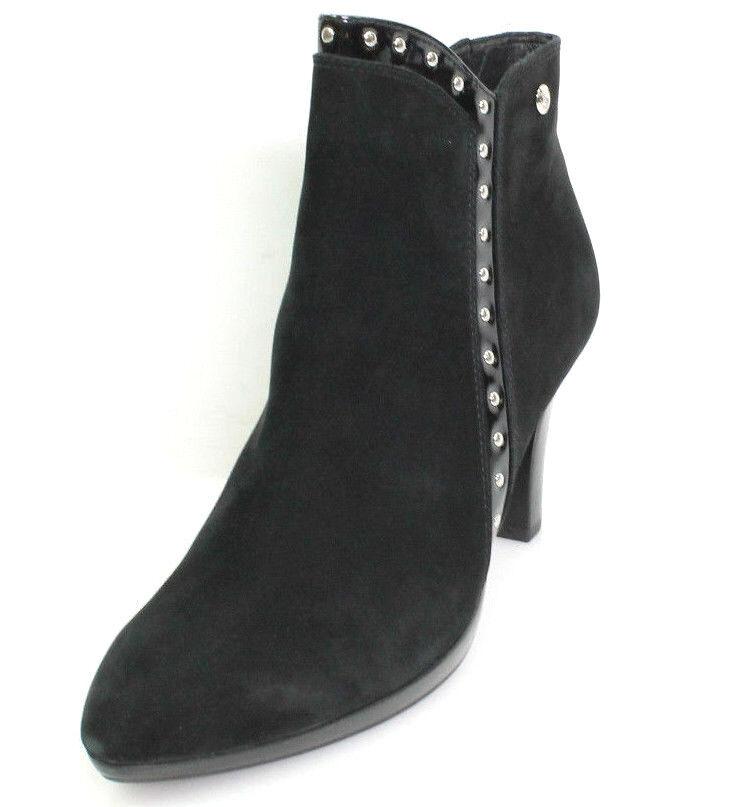 Caprice 25311 Gr.39 Damen Schuhe Kurzschaft Stiefel Stiefeletten Leder Schwarz