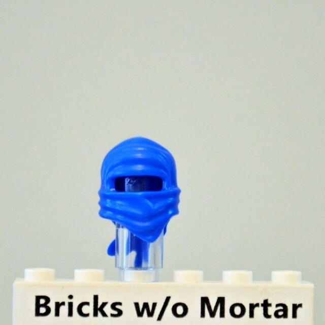 New Genuine LEGO Blue Ninja Wrap Jay Ninjago Minifig