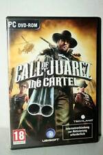 CALL OF JUAREZ THE CARTEL GIOCO USATO OTTIMO PC DVD VERSIONE TEDESCA FR1 40535