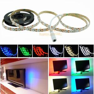 led strip light usb battery operated 4 5v 0 5 2m multi color connector cable ebay. Black Bedroom Furniture Sets. Home Design Ideas
