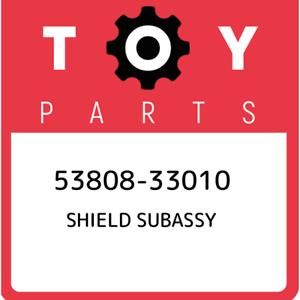 53808-33010-Toyota-Shield-subassy-5380833010-New-Genuine-OEM-Part