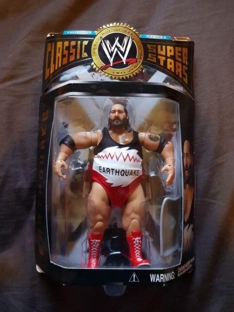 EARTHQUAKE WWE MOC Classic Super Stars Figure Jakks WWF NEW MOC WWE ecfea4