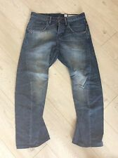 Authentic AllSaints Mens Distressed Twisted Leg Jeans W33 L29 Cool!