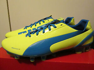 finest selection a53d1 55982 Image is loading 130-Puma-EvoSpeed-2-2-FG-Soccer-Cleats-