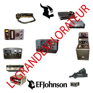 Détails Sur Ultimate Ef Johnson Viking Radio Operation Repair Service Manual S 360 On Dvd