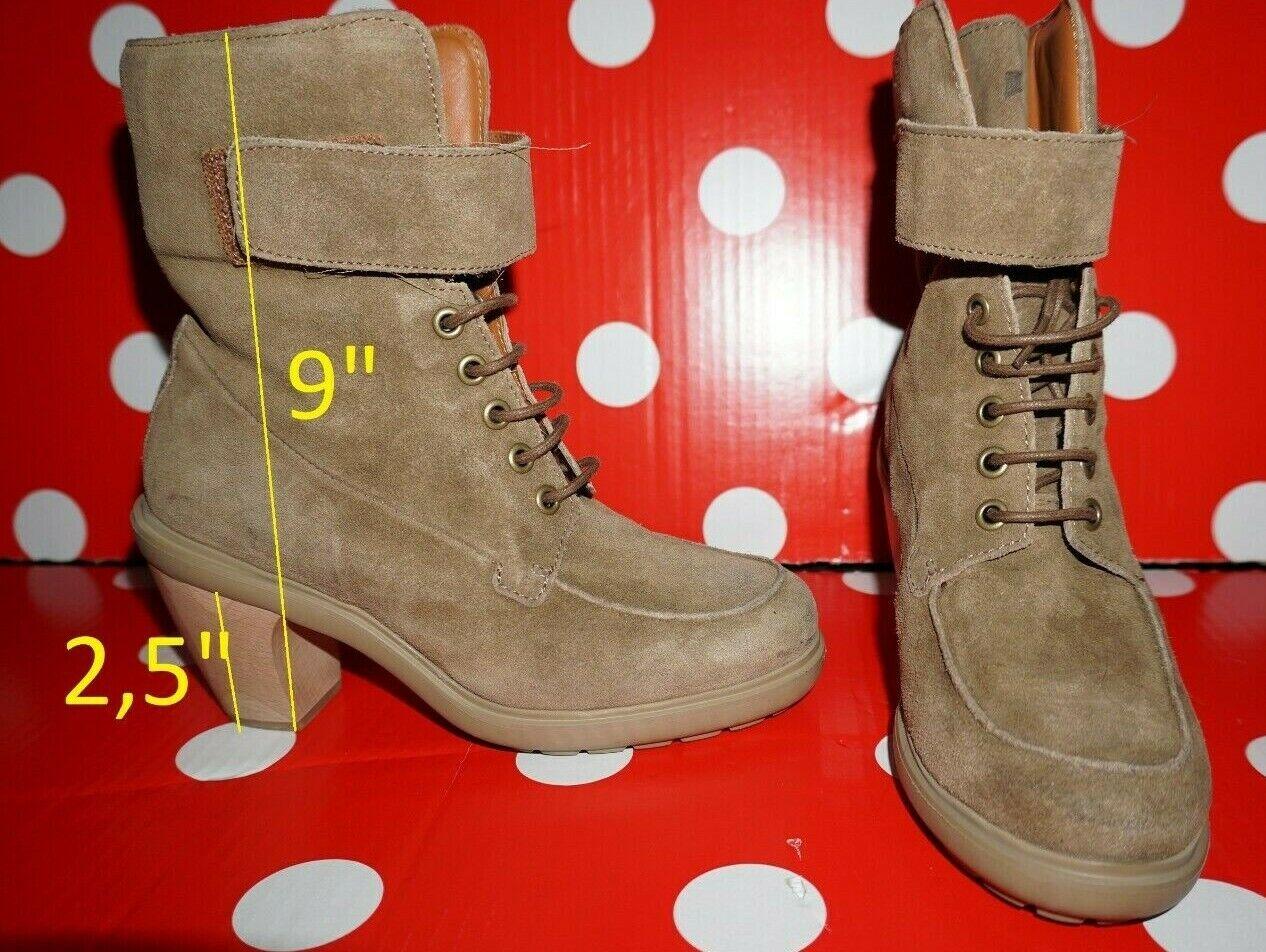 New CAMPER Pelots XL Lite Alicante 37 uk4 us6,5 botas suede leather mujer zapatos
