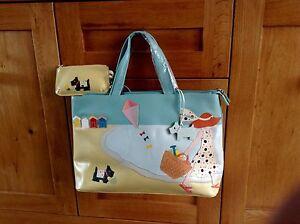 Leather bag bag with applique autumn black u shop online on