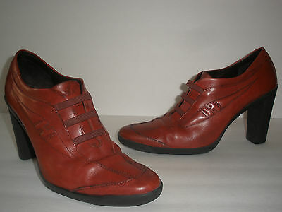 HOGAN LEATHER PUMPS SHOES SIZE US 10 EUR 40 NICE MADE IN ITALY $390 | eBay