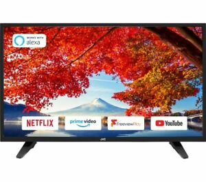 "JVC LT-39C610 39"" Smart HD Ready LED TV  - Black"
