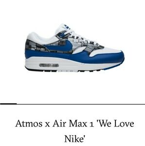 parte superior NIKE AIR MAX 1 Print We Love Nike Aq0927 100