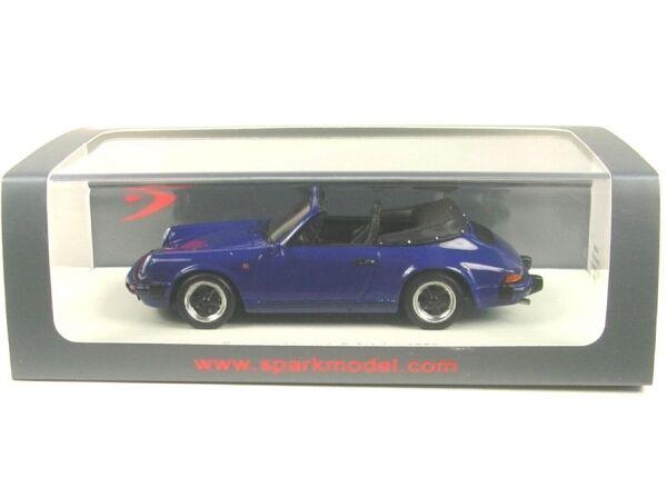 Porsche 911 3.2 cabriolet (Dark bleu) bleu) bleu) 1989 c5cccc