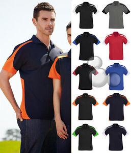 Mens-Polo-Shirt-Size-S-M-L-XL-2XL-3XL-5XL-Shirt-Top-Contrast-Sport-Golf