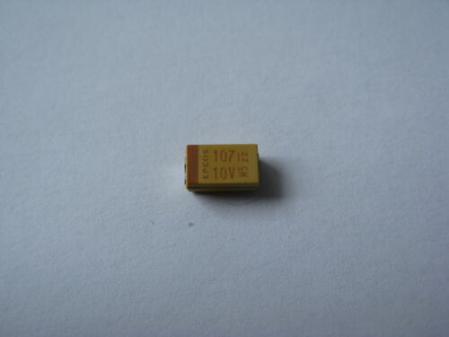 SMD Kondensator 100µF 10V Bauform  10 Stck.
