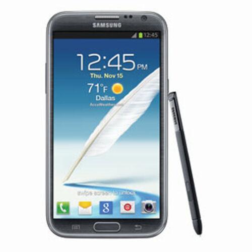1 of 1 - Samsung Galaxy Note II SGH-I317 - 16GB Titanium gray (AT&T) Smartphone Unlocked