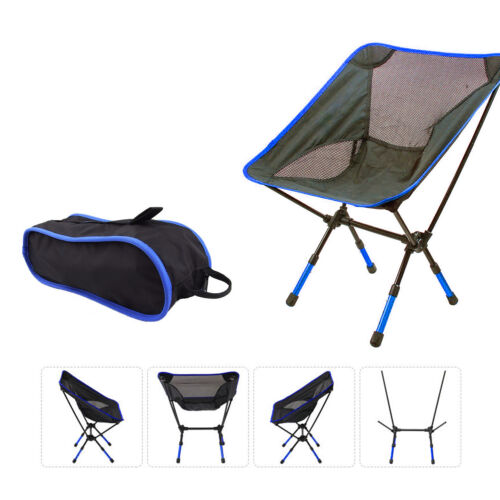 Convenient Lightweight Folding Camping Chairs Outdoor Equipment Seat Picnic Gear