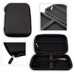 caseroxx GPS-Case for Garmin DriveSmart 70 LMT-D EU in black made of faux leathe