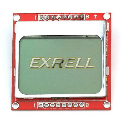 LCD Modulo Display 84x48 Retroilluminazione per Nokia 5110 Arduino MSP430 STM32