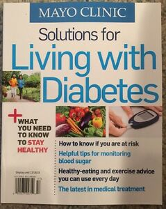 details about mayo clinic solutions for living with diabetes november