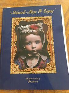 Frasher S Doll Auction Catalog 140 Mademoiselle Marque Company Ebay